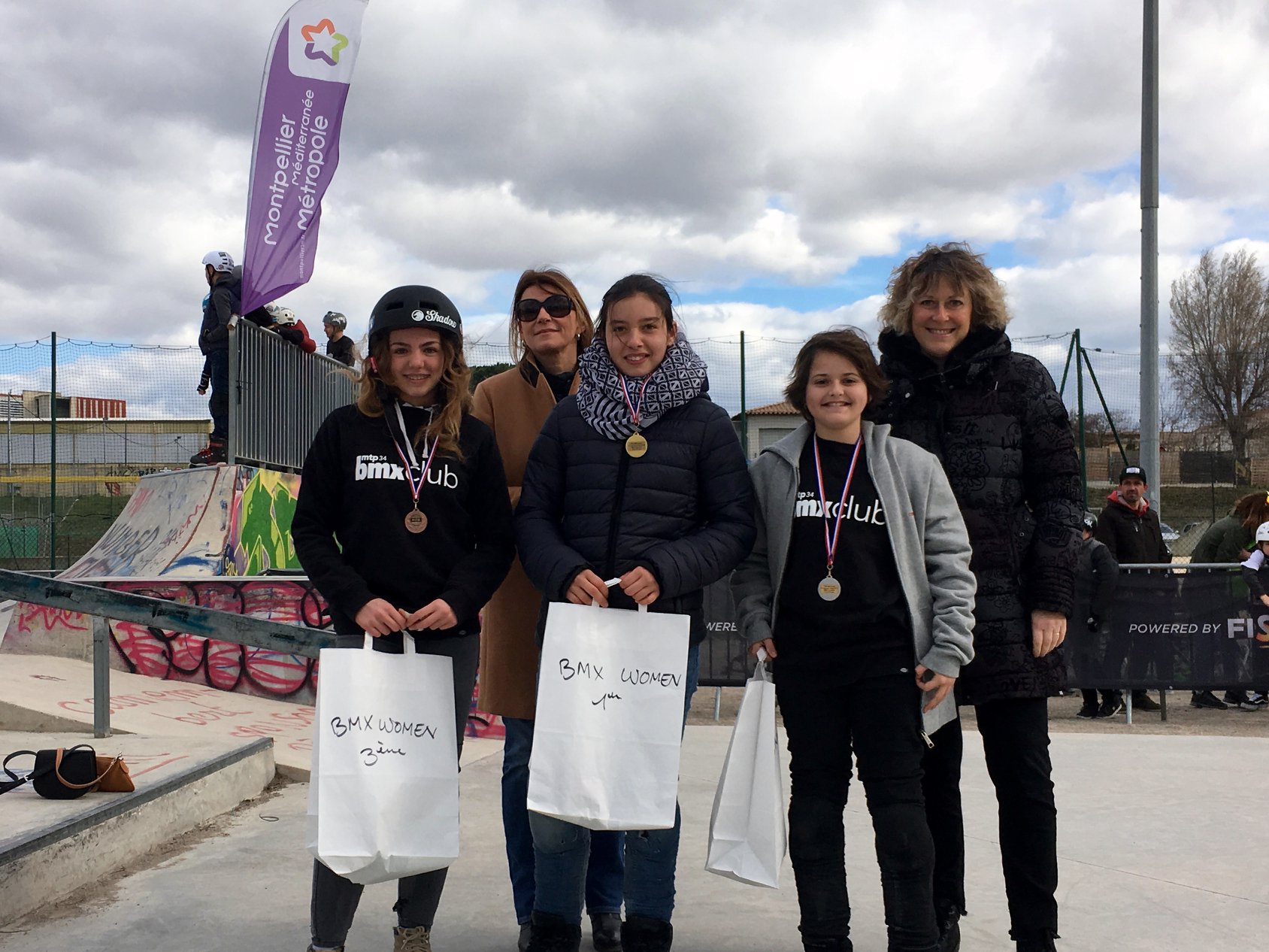 Podium Freestyle Women