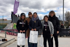 Podium Freestyle Women