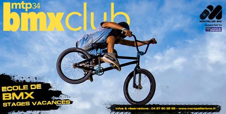 Stages BMX vacances de février – Inscriptions ouvertes !