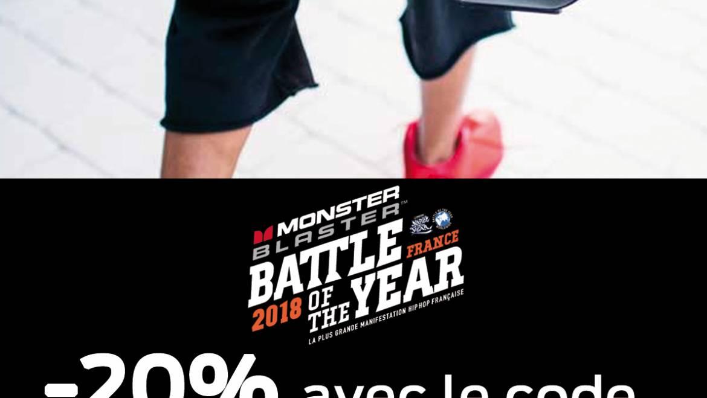 PROMOTION MONSTER BLASTER JUSQU'AU 31 MAI 2018