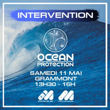 Samedi 11 Mai INTERVENTION PARTENAIRE – OCEAN PROTECTION