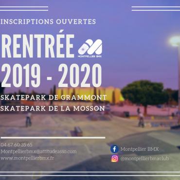 RENTREE 2019-2020 – Inscriptions ouvertes !