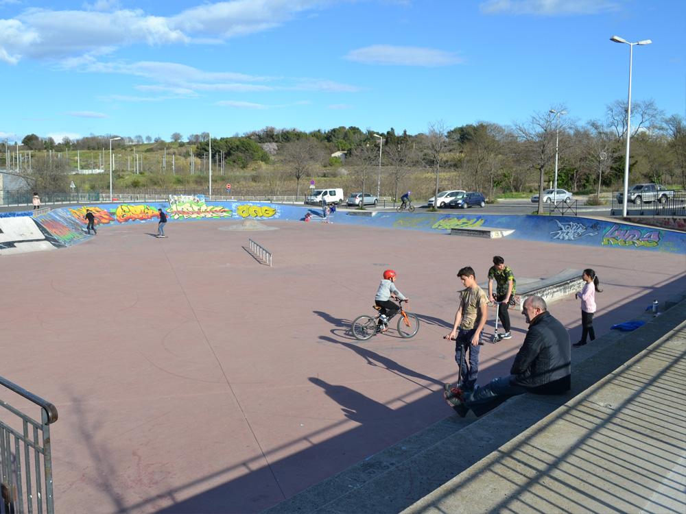 skatepark la mosson montpellier